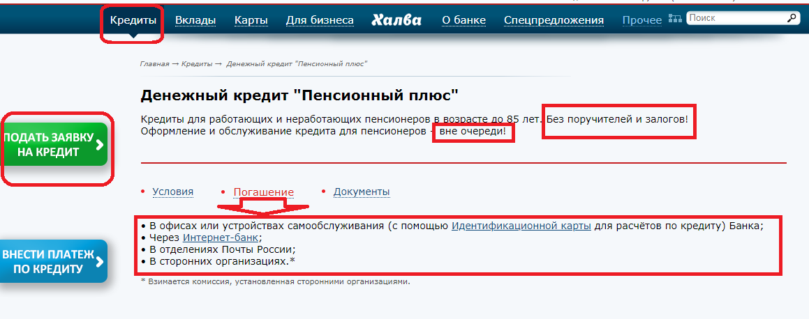 Калькулятор кредита Почта Банк в Казани